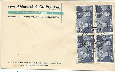 AUSTRALIA FDC-1960 GOLDEN JUBILEE OF GUIDING-UNOFFICIAL COVER-Correct Date