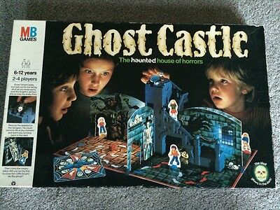 MB Ghost Castle Board Game (1985) Complete