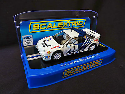 Scalextric C3493 - FORD RS200 Rally Sweden 1986 - Stig Blomqvist