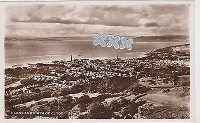 Postcard - Largs And Firth Of Clyde.