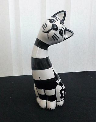 """Lorna Bailey Collectors Hand Painted Signed Cat """"humbug"""" Brand New Unused"""