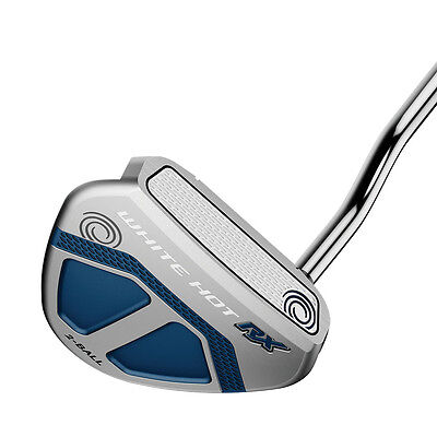 "NEW Odyssey Golf White Hot RX 2-Ball V-Line Mallet Putter 33"" 2016"