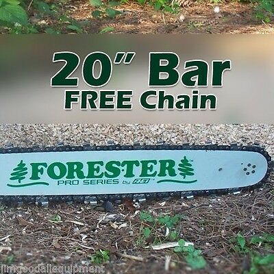 """20"""" Forester Laminated Bar w/Free Chain 3/8"""" pitch, 050 gauge,72 link Fits Stihl"""