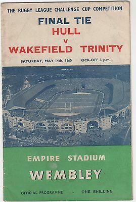 Hull V Wakefield 1960 R.lcup Final