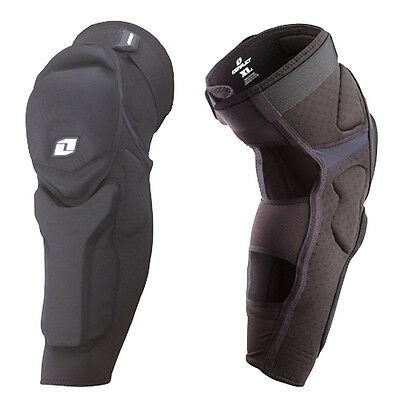 One Industries Conflict Dh Mtb Mountain Bike Mx Knee / Shin Guard Pads
