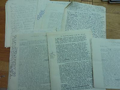 1950s COLLECTION 16 LETTERS TO ANTHONY FIELD CBE THEATRE ARTS COUNCIL