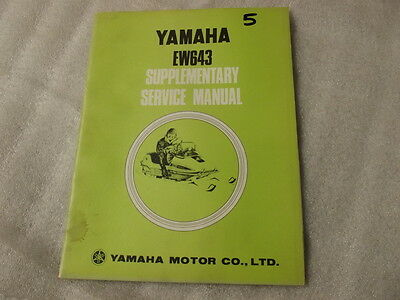 Yamaha Ew643 Supplementary Service Manual   5