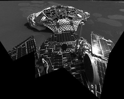 Landing Platform from Mars Opportunity Rover 11x14 Silver Halide Photo Print
