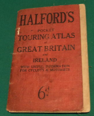 Halford's Pocket Touring Atlas of Great Britain and Ireland. Undated. Cost 6d.