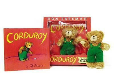 Corduroy [With Plush Bear] by Don Freeman (English) Hardcover Book Free Shipping