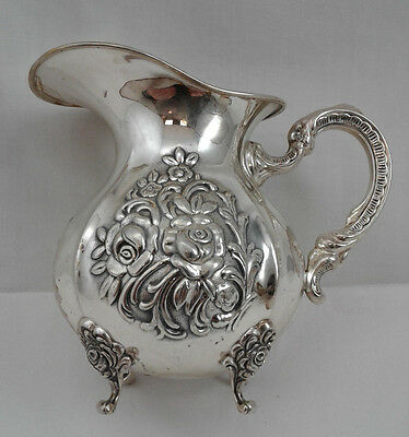 "Creamer - Gebr. Kuhn Sterling Silver 925 - 4"" high - 188 g - Excellent Cond."