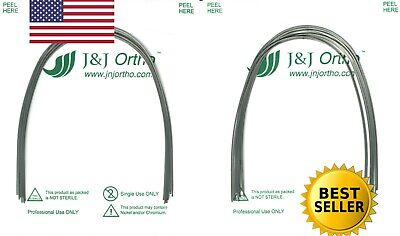 Azdent Orthodontic NiTi Superelastic Arch Wire Round 014 Upper / Lower (20pcs)