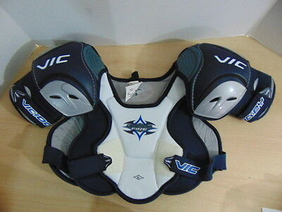 Hockey Shoulder Chest Pad Childrens Size Junior Large Age 8-10 Vic Fire
