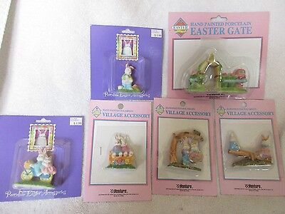 Collection 1996 Easter Porcelain & Composite Figurines Holiday Decorations