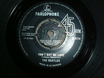 The Beatles-Can`t Buy Me Love 1St Press  Parlophone Single 1964