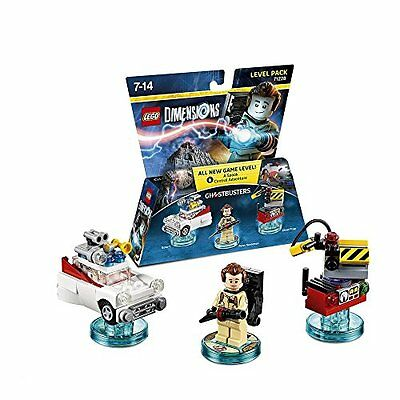 Lego Dimensions Ghostbusters Level Pack (71228)-Lego Dimensions Level Pack  New