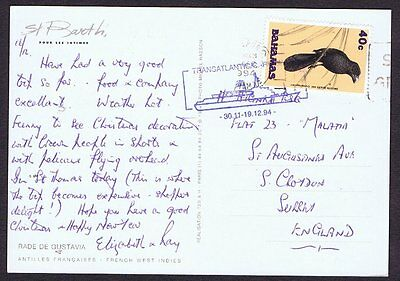 1994 Pc Ms Vistafjord? Transatlantic/carribean 30.11-19.12.94  Cachet - Bahamas