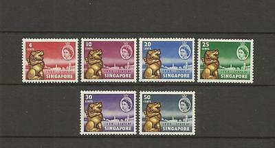 Singapore ~ 1959 New Constitution Qe Ii (Mint Mh)