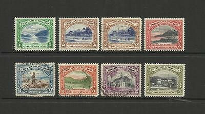 British Trinidad & Tobago ~ 1935 King George V ~ Definitives (Part Set)