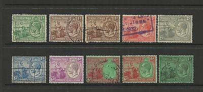 British Trinidad & Tobago ~ 1921-32 King George V ~ Definitives (Part Set)