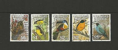 Trinidad & Tobago ~ 1990 Bird Definitives (Used Part Set)