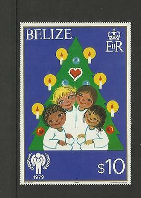 Belize (British Honduras) - 1980 International Year Of The Child $10 Mini Sheet