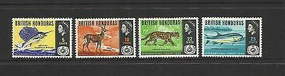 British Honduras Belize - 1967 International Tourist Year (Mh)
