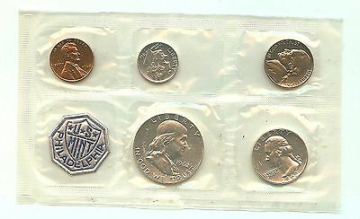 Uncirculated coins - 1962