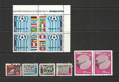 Peru ~ Small Mid Modern Collection (Most Postally Used)