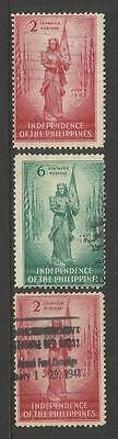 Philippines ~ 1946 Independence (Part Set)