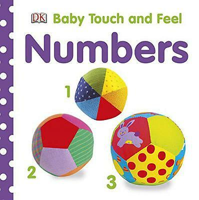 Baby Touch and Feel Numbers, DK, DK | Board book Book | 9781409334910 | NEW