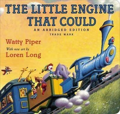 NEW The Little Engine That Could By Watty Piper Board Book Free Shipping