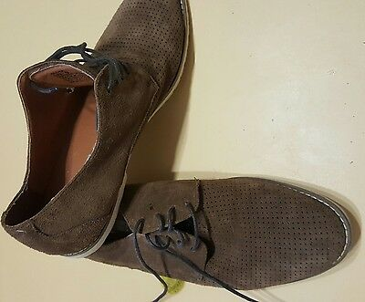ZU Man mens leather shoes. size 9. worn once