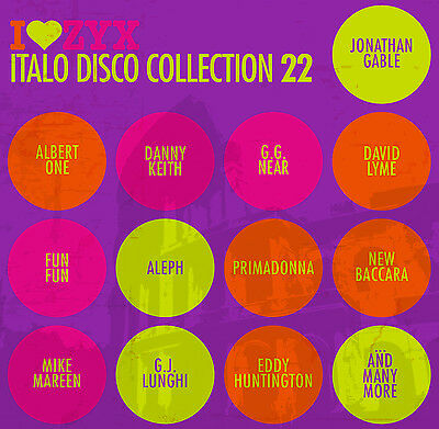 CD ZYX ITALO DISCO COLLECTION 22 by Various Artists 3 CDs