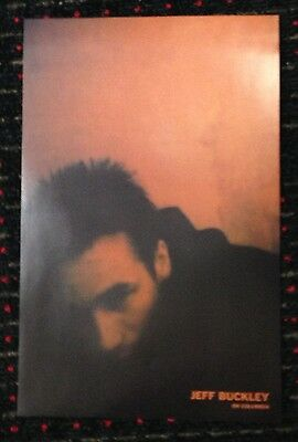JEFF BUCKLEY Live At Sin-e 11x17 official original promo poster 2sided Columbia