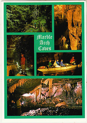 MARBLE ARCH CAVES CO. FERMANAGH 1990s POSTCARD UN-POSTED JOHN HINDE 2NI 201