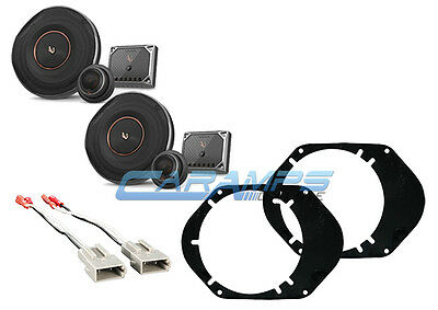 NEW JVC FORD F-150 250 350 TRUCK FRONT OR REAR AUDIO SPEAKERS W INSTALL KIT