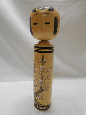 Kokeshi Japanese Doll Vintage Wooden Doll Traditional Style Handpainted #423