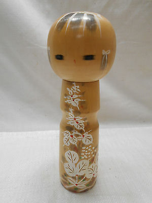 Kokeshi Creative Style Wooden Japanese Doll Vintage Handpainted #421