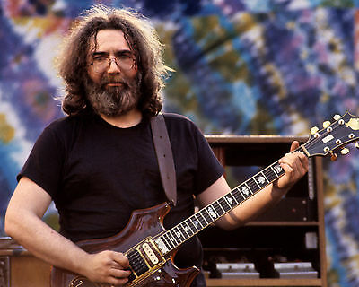 Jerry Garcia - Grateful Dead, 8x10 Color Photo