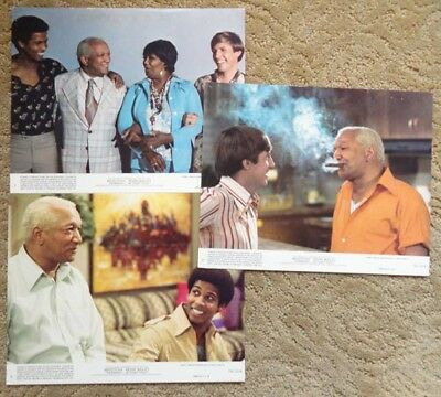 3 Mini Lobby Cards from Norman..Is That You? Redd Foxx and Pearl Bailey~G37381