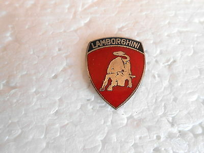Vintage Lamborghini Italian Sports Cars / Automobile Enamel Lapel Pin