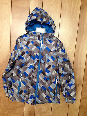 Boy's Lands' End Full Zip Hooded Jacket-Size: Small (8)