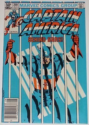 Captain America #260 from Aug 1981 F- to F+