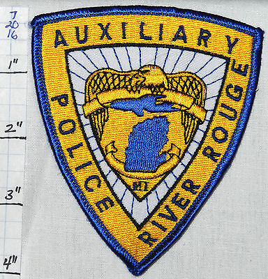 Michigan, River Rouge Police Auxiliary Patch