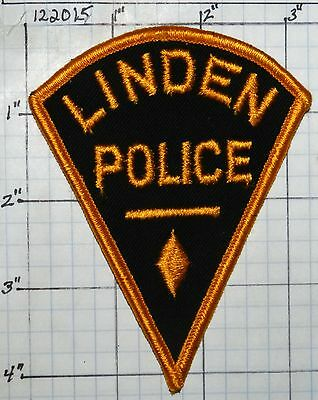 New Jersey, Linden Police Dept Patch