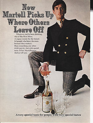 Original Print Ad-1967 MARTELL COGNAC-for people with very special tastes