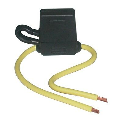 HHG In-line ATC Fuse Holder, Heavy-Duty with Protective Cover 30amp