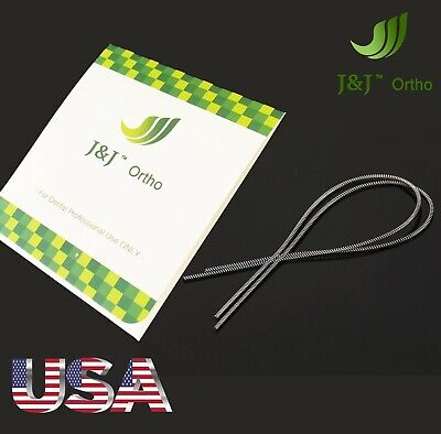 1x Pack AZDENT Dental Orthodontic NiTi Open Coils Spring 0.010 180mm