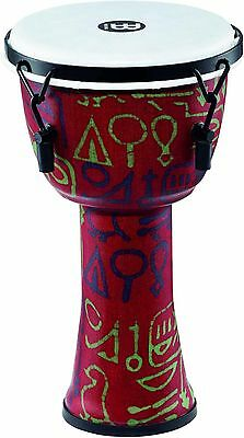 Meinl Mechanically Tuned Djembe Synth/Shell and Head 8 in. Pharaoh's Script